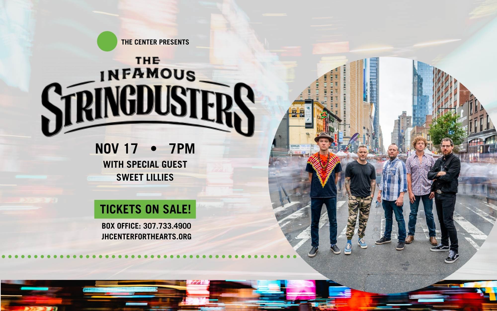 THE INFAMOUS STRINGDUSTERS WITH SPECIAL GUEST SWEET LILLIES